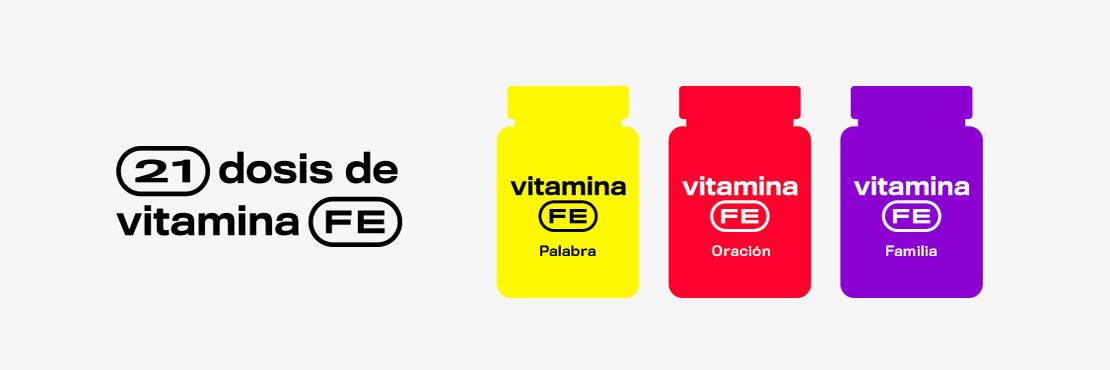 21 dias de vitamina FE